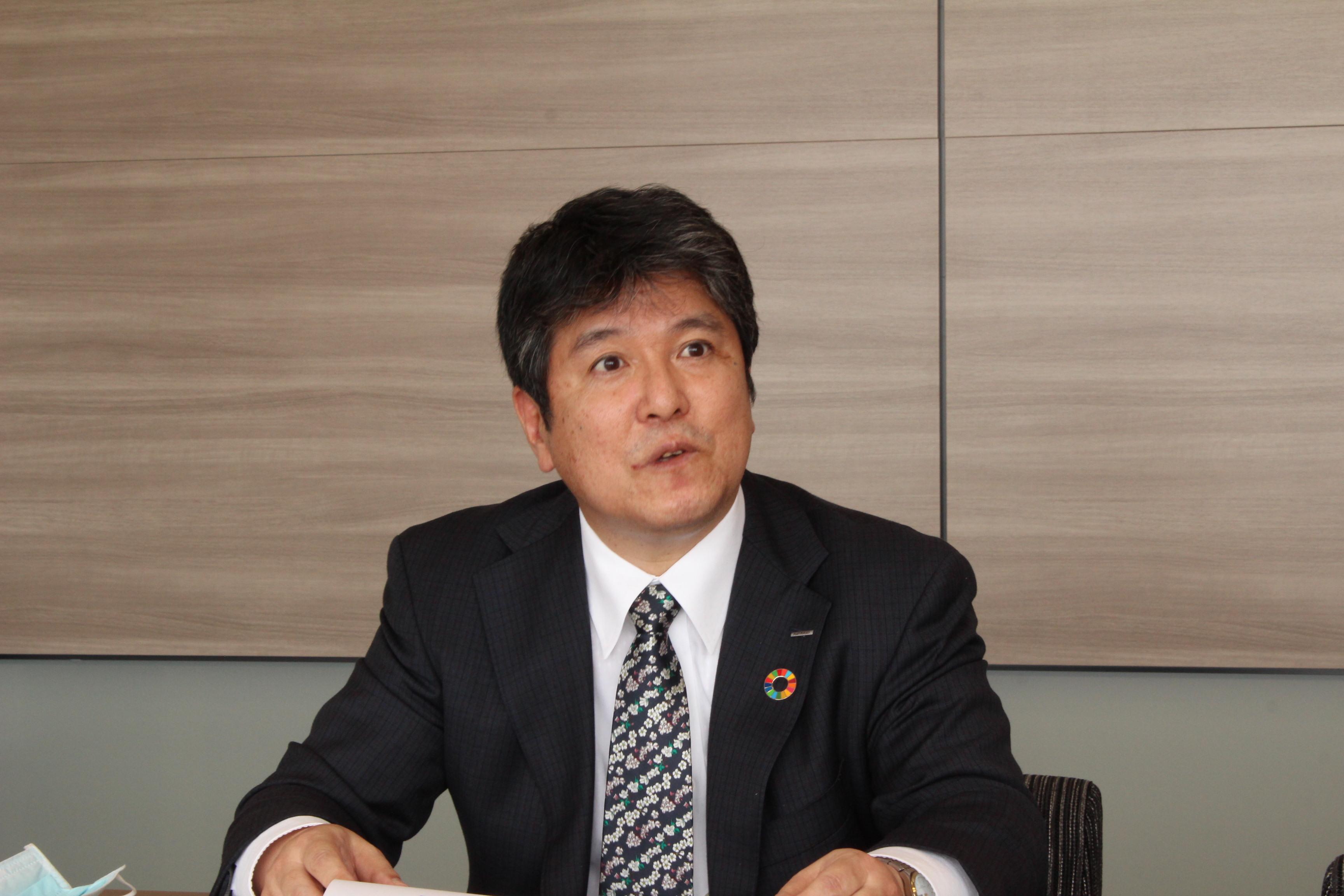 竹中克・旭化成上席執行役員研究・開発本部長