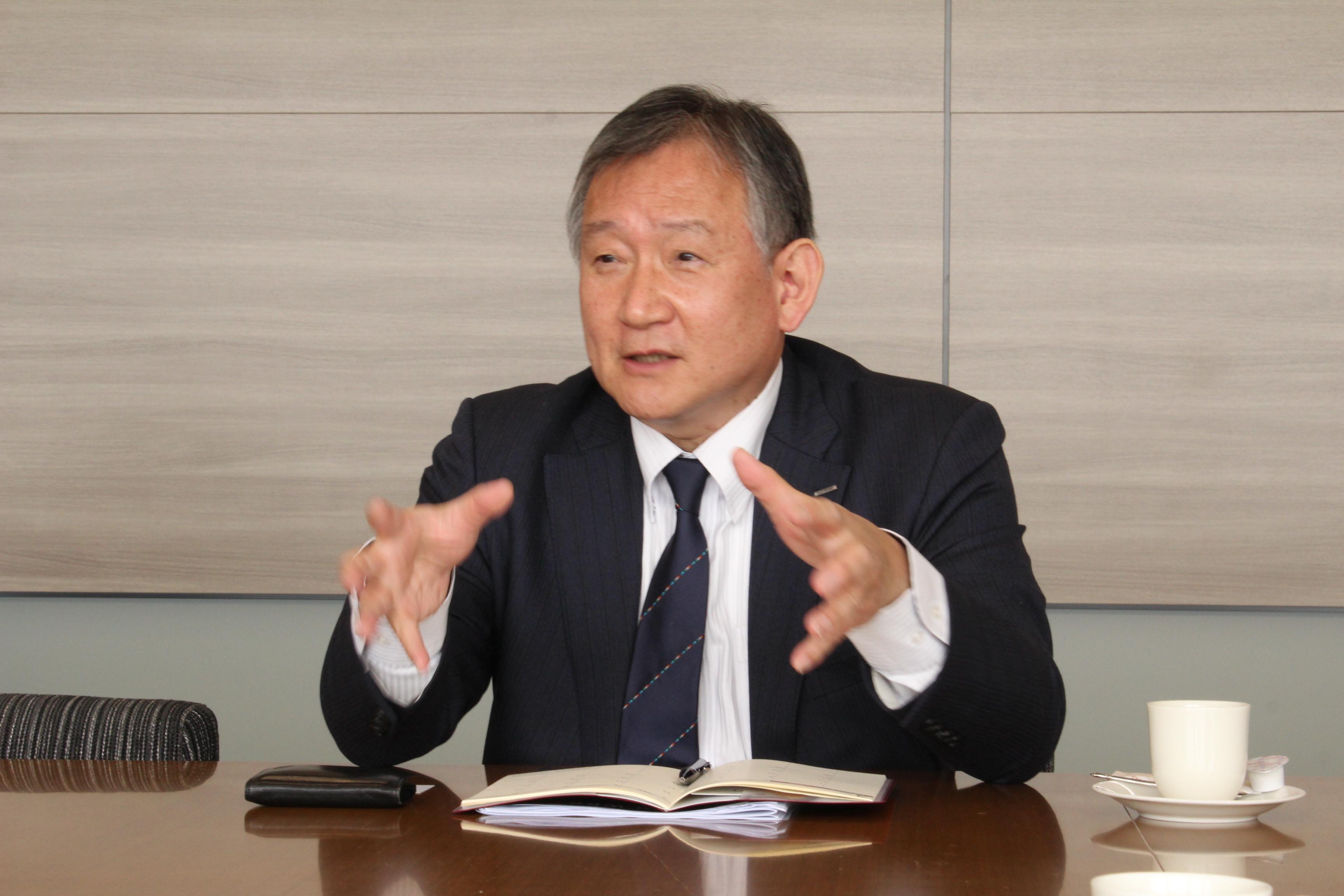 田村敏・旭化成常務執行役員・マーケティング&イノベーション本部長/グリーンソリューションプロジェクト長